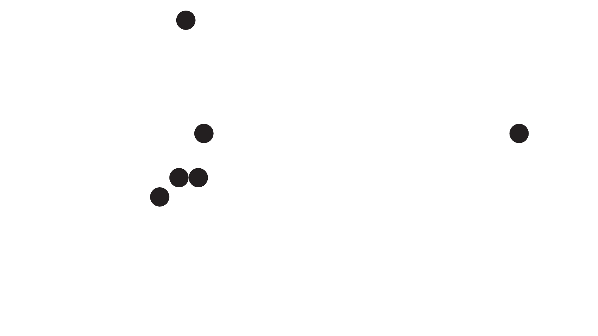 Map of DSA Chapters in Washington State