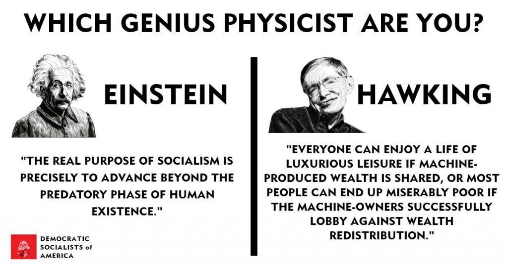 Geniuses like socialismo