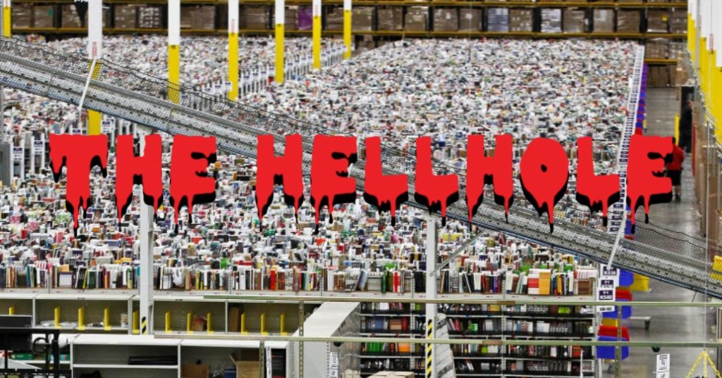 The Hellhole at the Kent Amazon warehouse