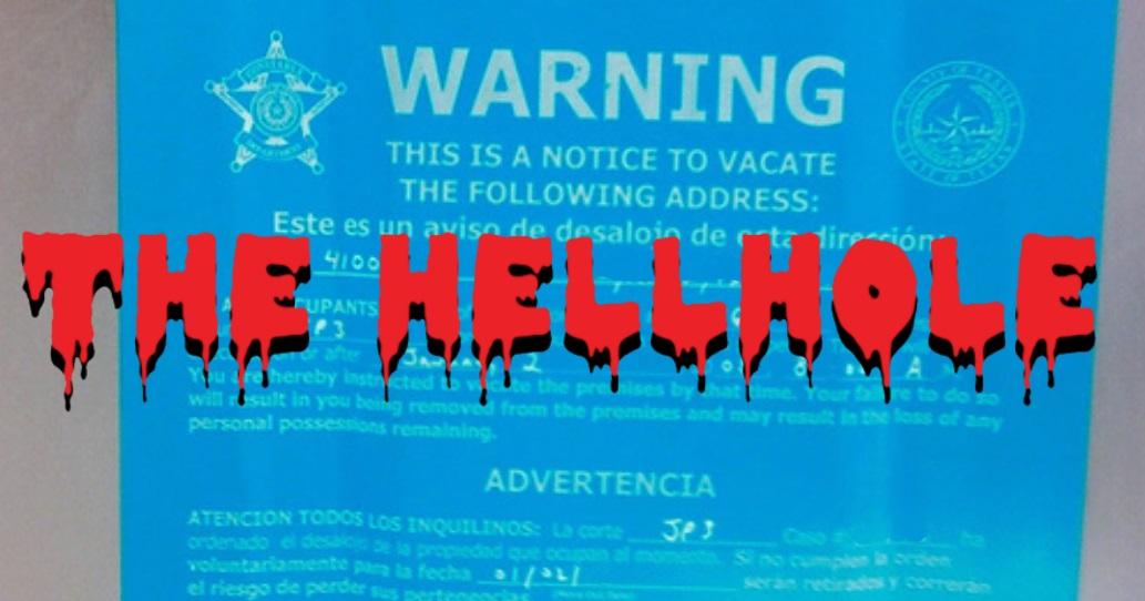 Eviction Notice Hellhole