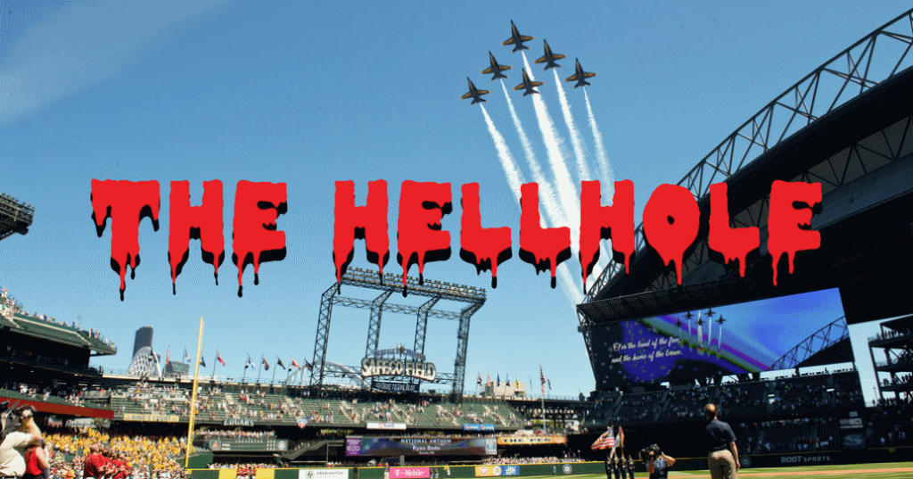 Jets fly over Safeco Field in our hellhole