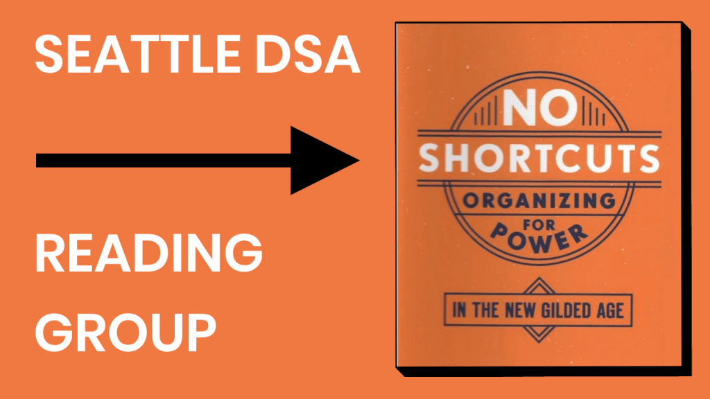 Seattle DSA No Shortcuts Reading Group