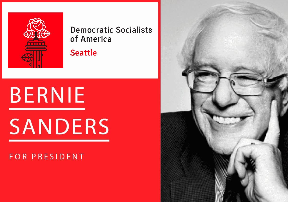 Seattle DSA - Bernie Sanders