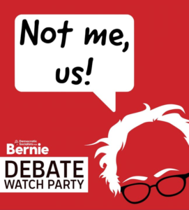 Bernie vs Biden Debate Watch Party
